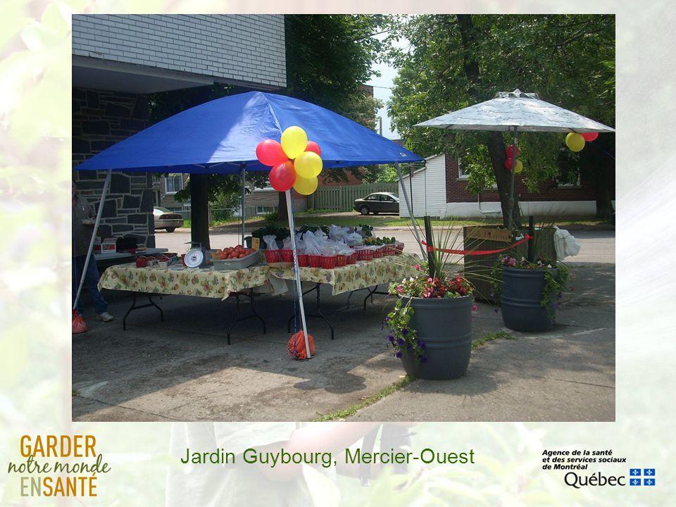 Jardin Guybourg, Mercier-Ouest