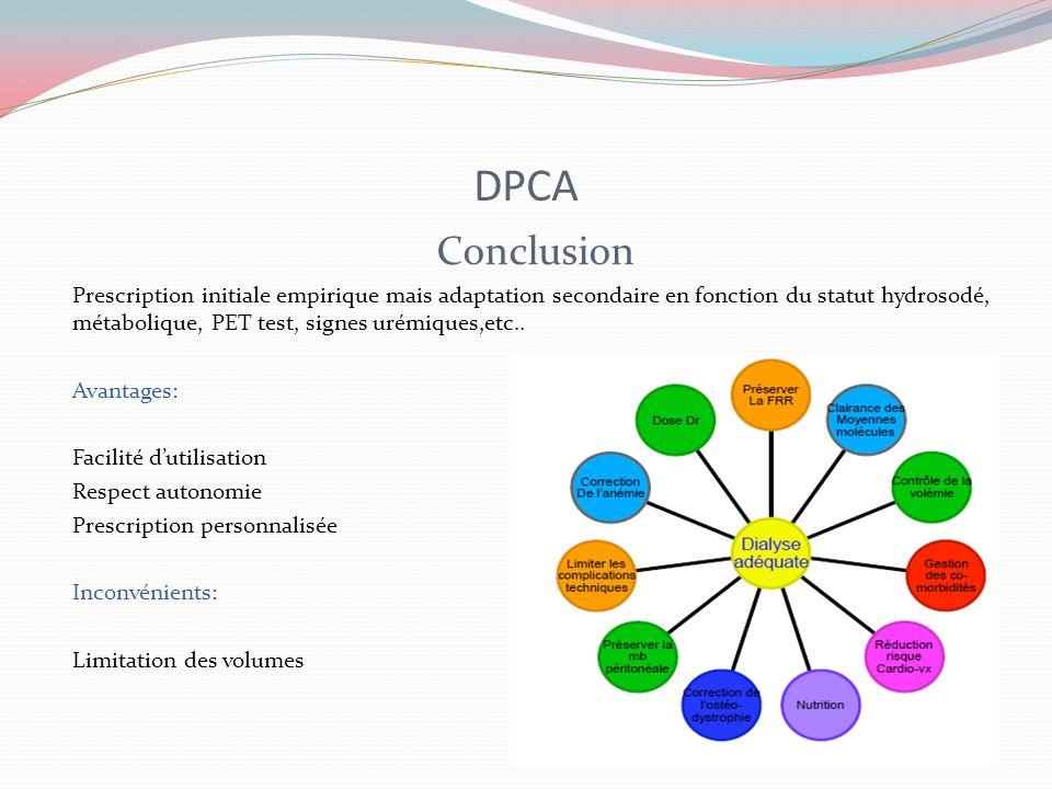 DPCA Conclusion.