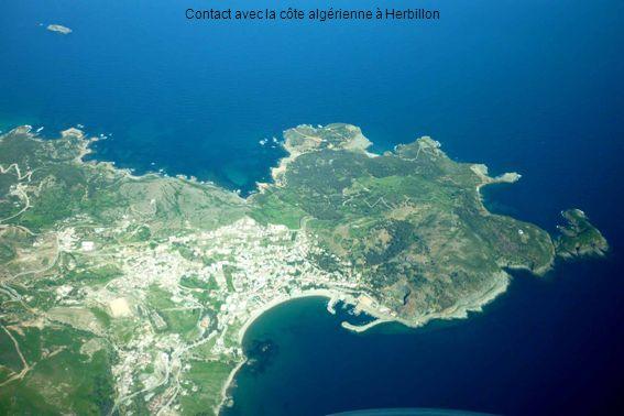 Contact avec la côte algérienne à Herbillon