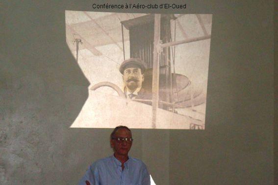 Conférence à l'Aéro-club d'El-Oued
