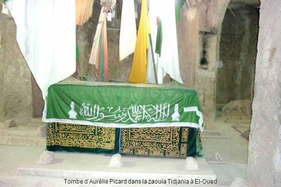 Tombe d'Aurélie Picard dans la zaouia Tidjania à El-Oued