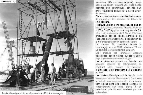 Fusée Véronique n° 6, le 16 novembre 1952 à Hammaguir
