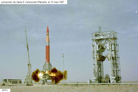 Lancement de Vesta 5, transportant Pierrette, le 13 mars 1967