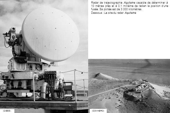 Dessous : Le site du radar Aquitaine