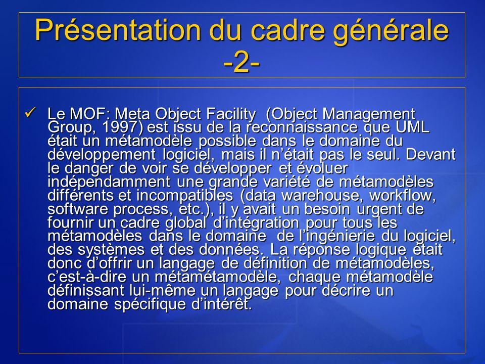 Présentation du cadre générale -2-