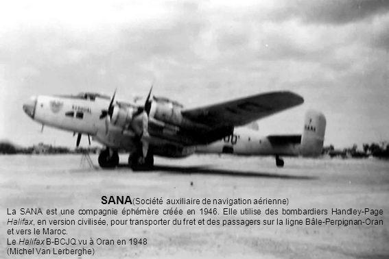 SANA(Société auxiliaire de navigation aérienne)