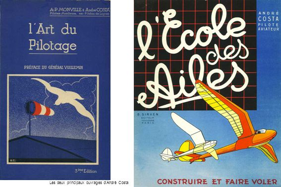 Les deux principaux ouvrages d'André Costa