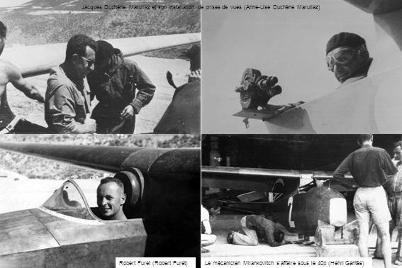 Jacques Duchène Marullaz et son installation de prises de vues (Anne-Lise Duchène Marullaz)