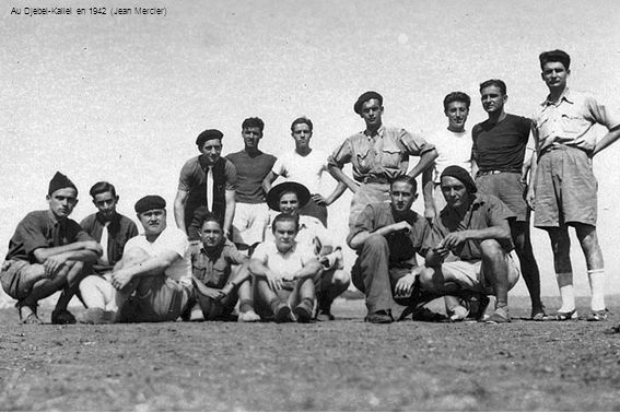 Au Djebel-Kallel en 1942 (Jean Mercier)