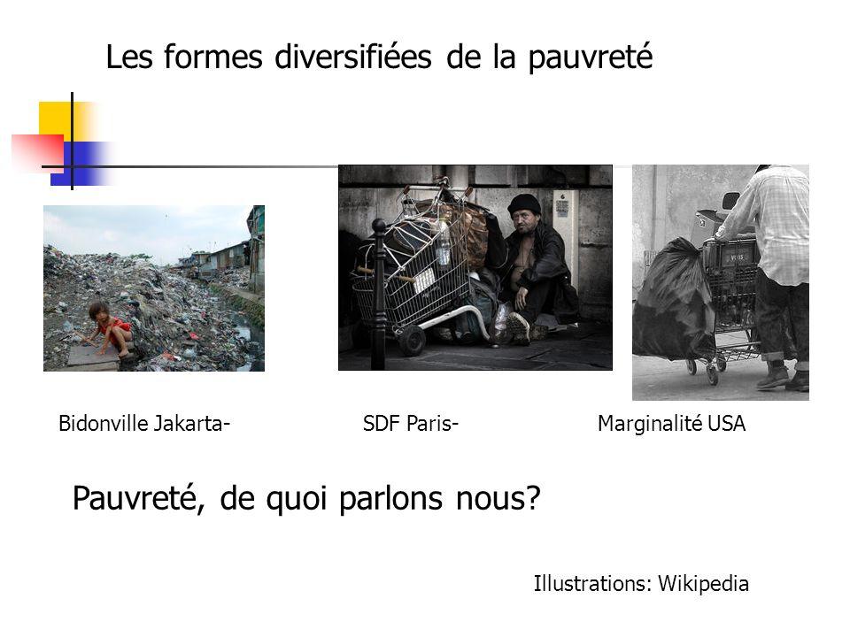 Les formes diversifiées de la pauvreté
