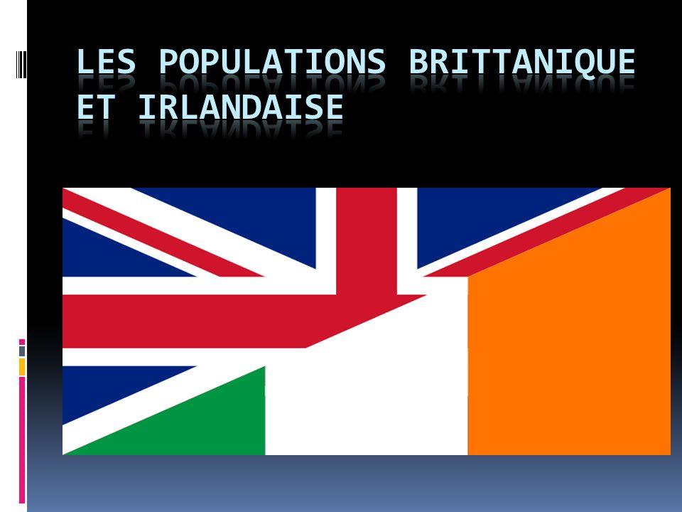 Les populations brittanique et irlandaise