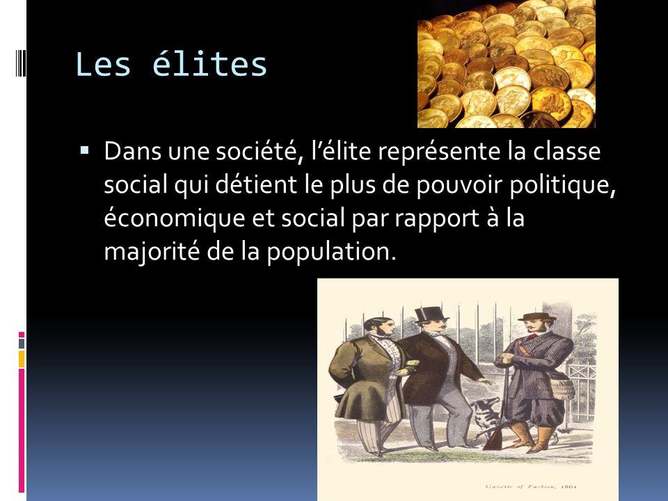 Les élites