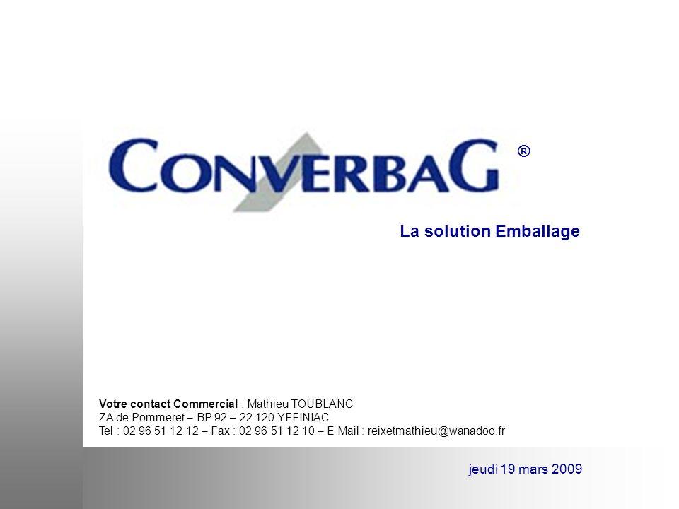 ® La solution Emballage jeudi 19 mars 2009