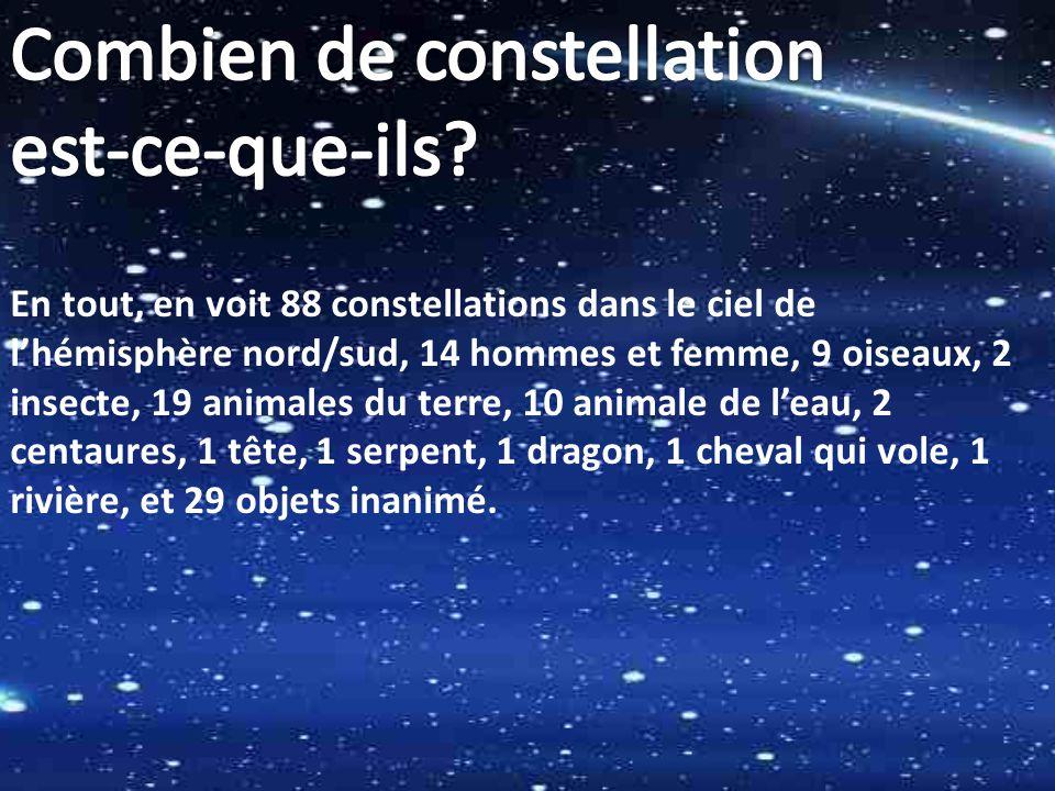 Combien de constellation est-ce-que-ils