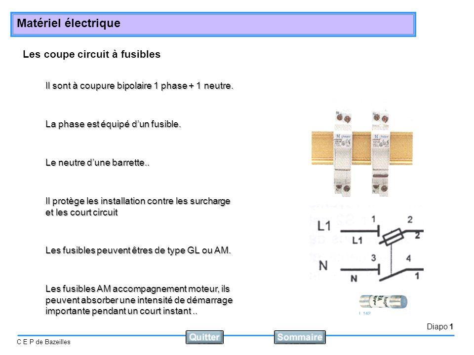 Les coupe circuit à fusibles