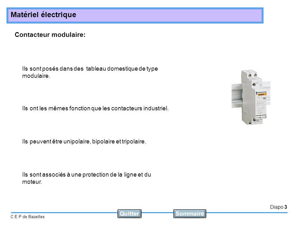 Contacteur modulaire:
