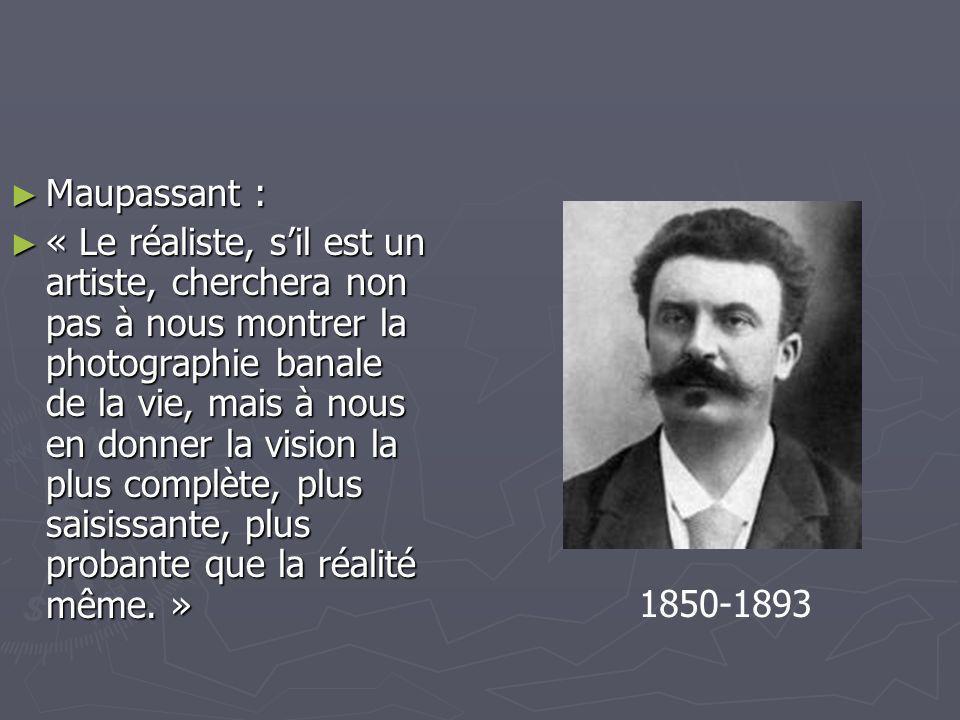 Maupassant :