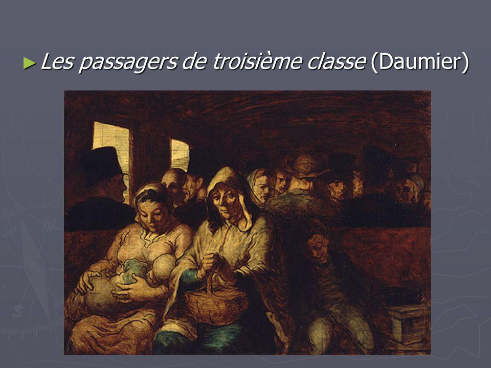 Les passagers de troisième classe (Daumier)