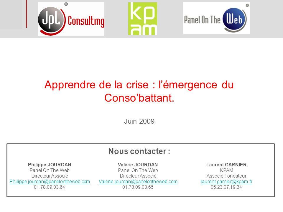 Apprendre de la crise : l'émergence du Conso'battant.
