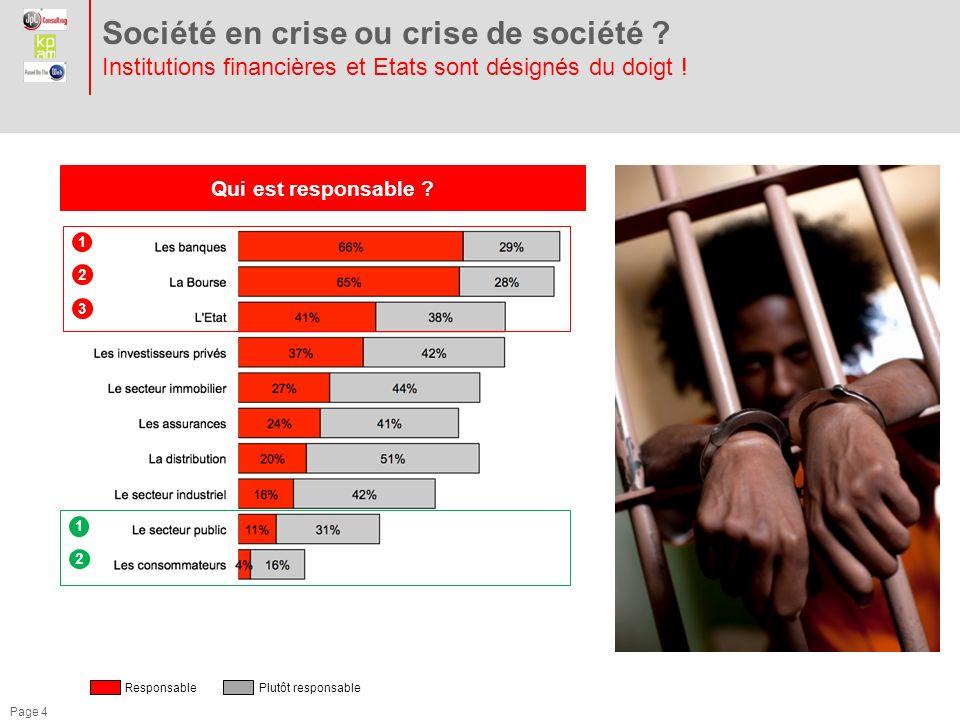Société en crise ou crise de société