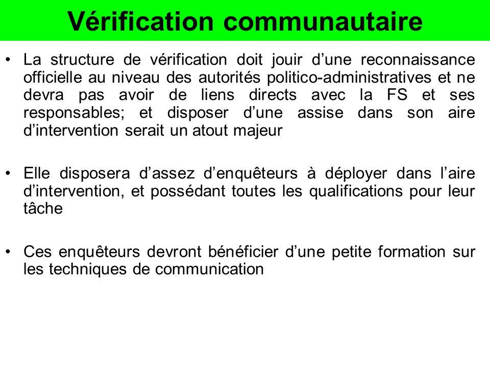 Vérification communautaire