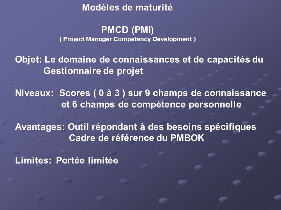 ( Project Manager Competency Development )
