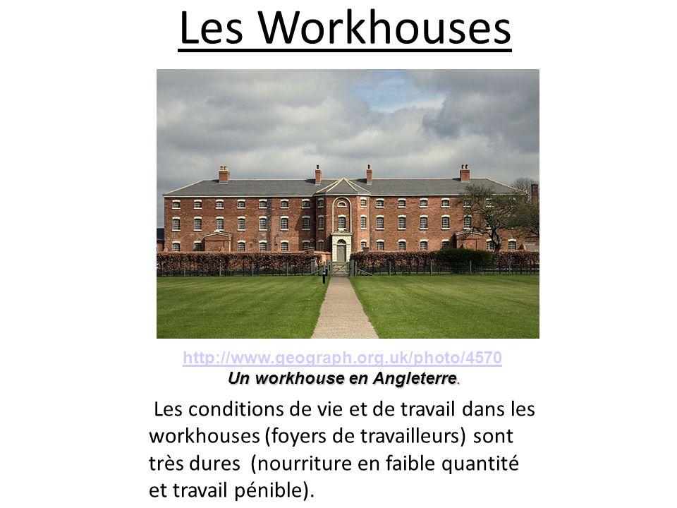 Un workhouse en Angleterre.