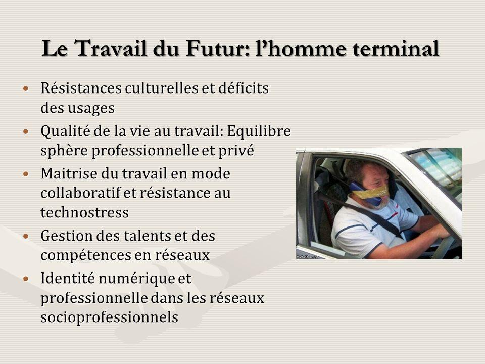 Le Travail du Futur: l'homme terminal