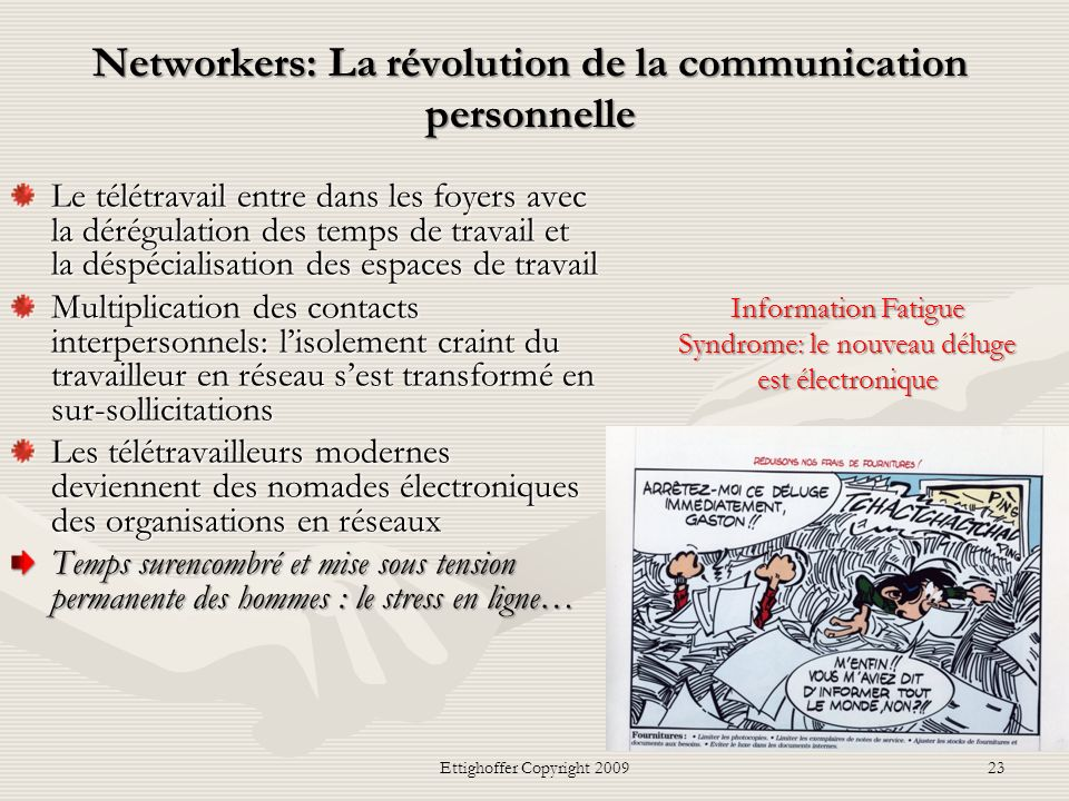 Networkers: La révolution de la communication personnelle