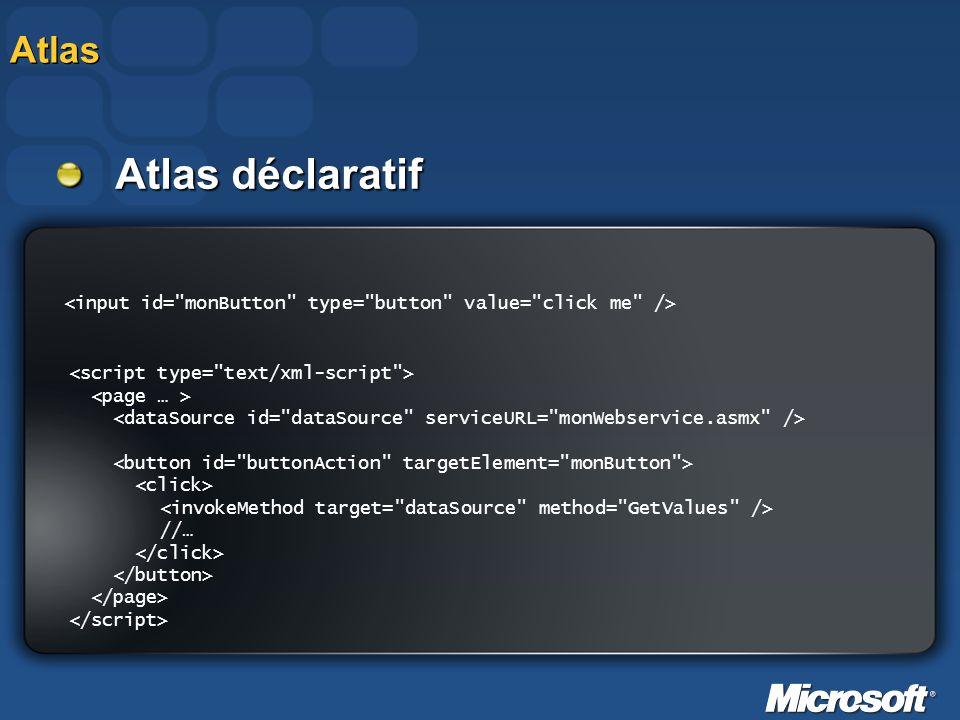 Atlas déclaratif Atlas