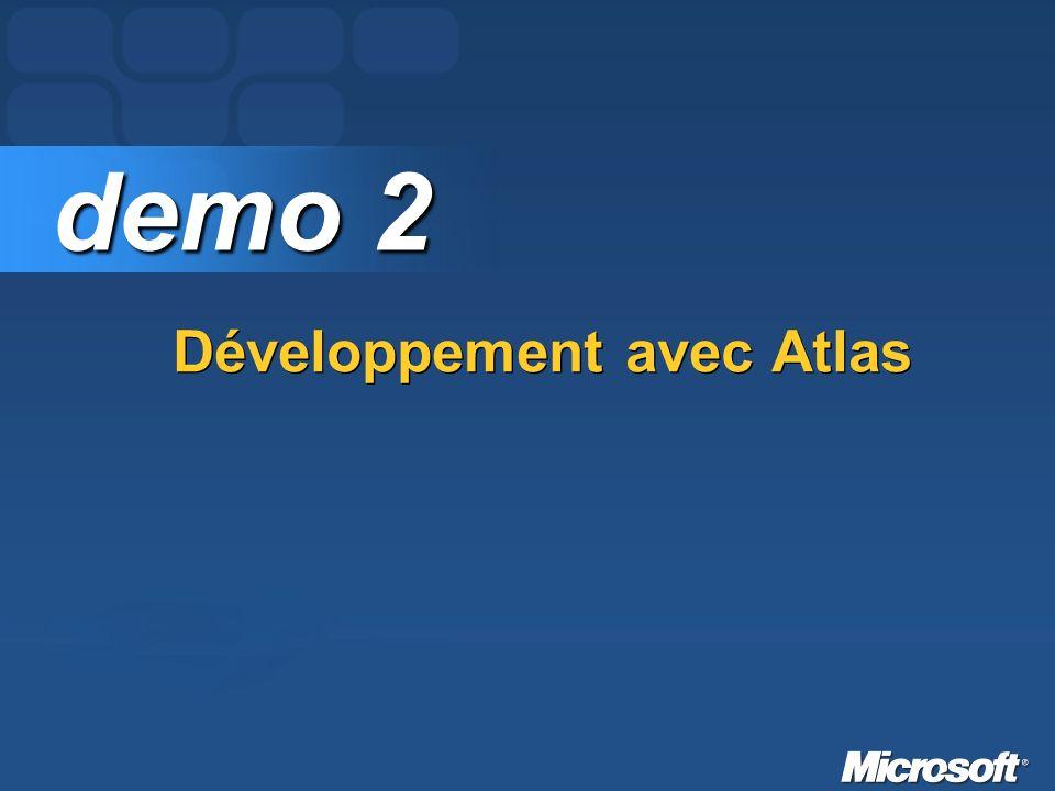 Développement avec Atlas