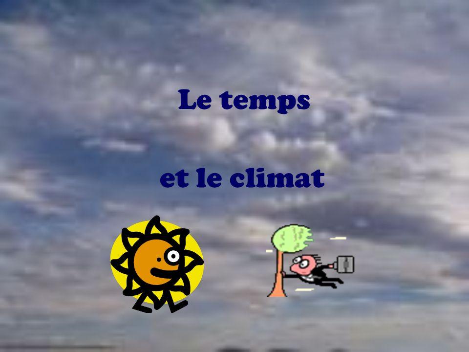 Le temps et le climat