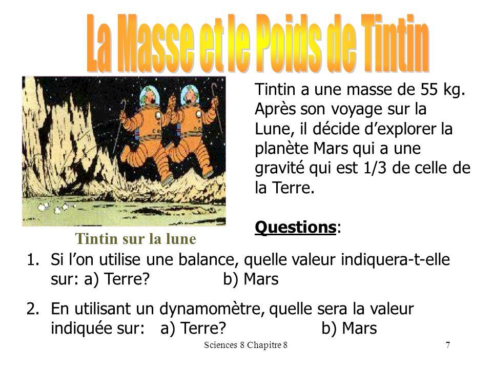 La Masse et le Poids de Tintin