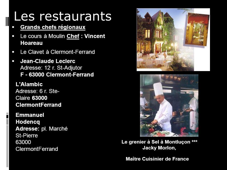 Le grenier à Sel à Montluçon ***