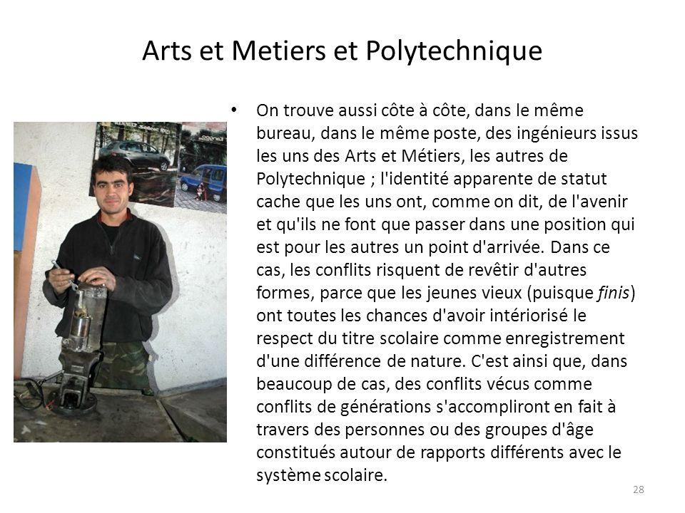 Arts et Metiers et Polytechnique