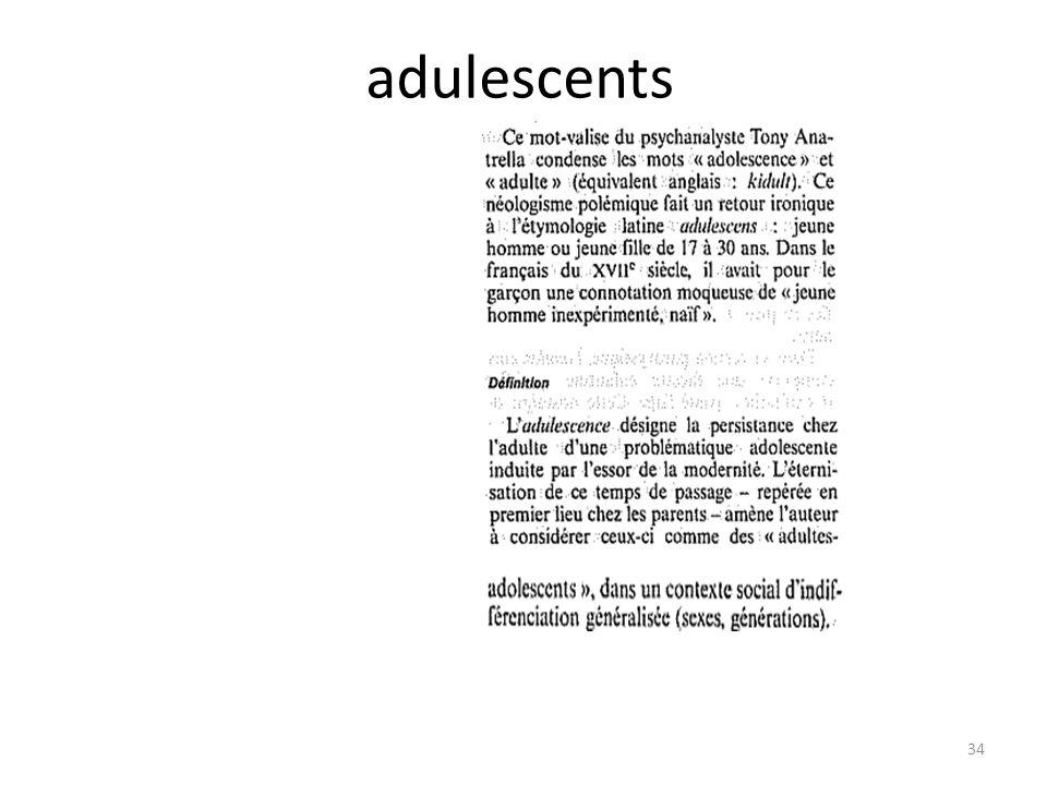 adulescents