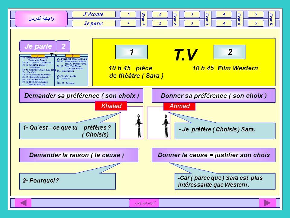 T.V 1 2 Je parle 2 10 h 45 pièce 10 h 45 Film Western