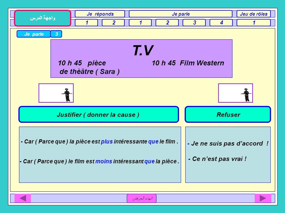 T.V 10 h 45 pièce 10 h 45 Film Western de thèâtre ( Sara )