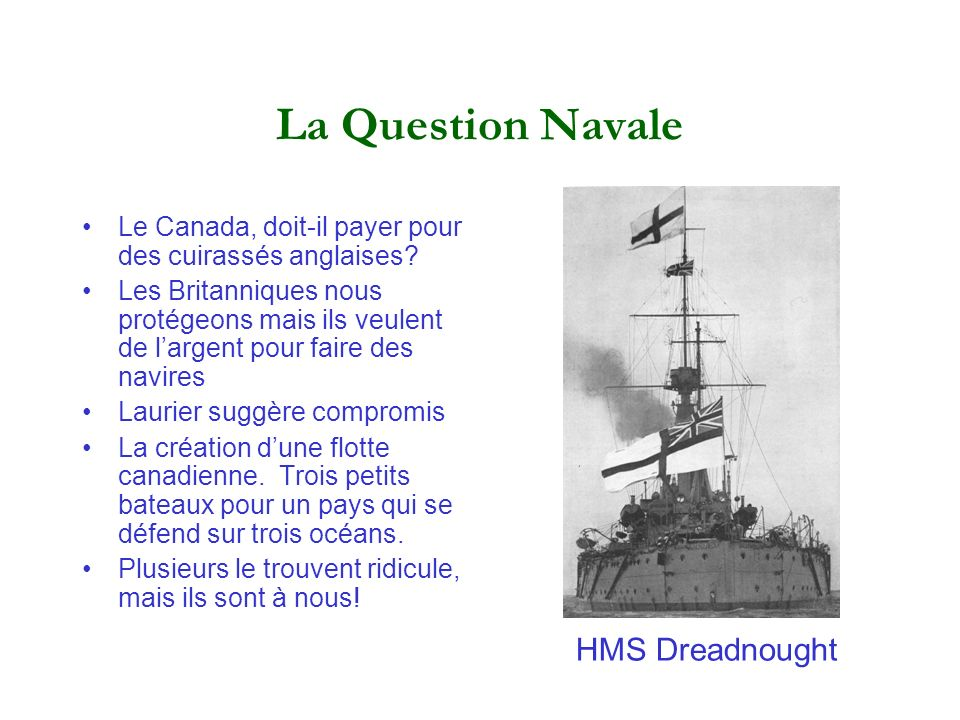 La Question Navale HMS Dreadnought