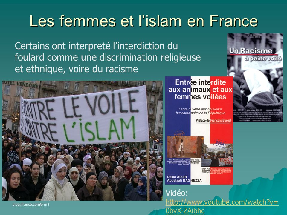 Les femmes et l'islam en France