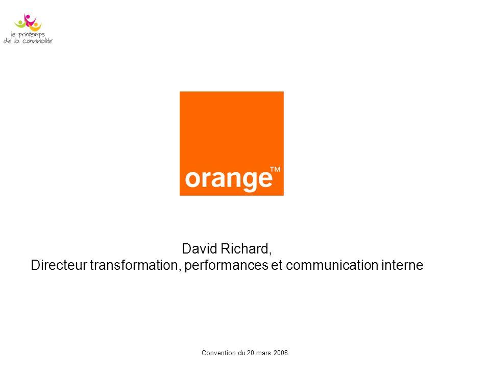 Directeur transformation, performances et communication interne