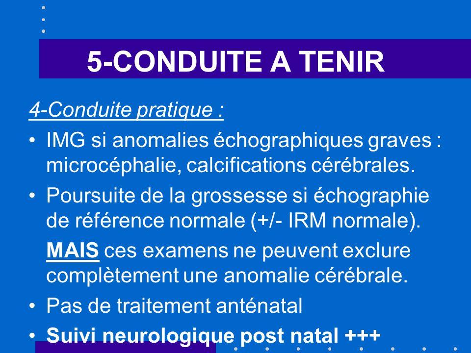 5-CONDUITE A TENIR 4-Conduite pratique :