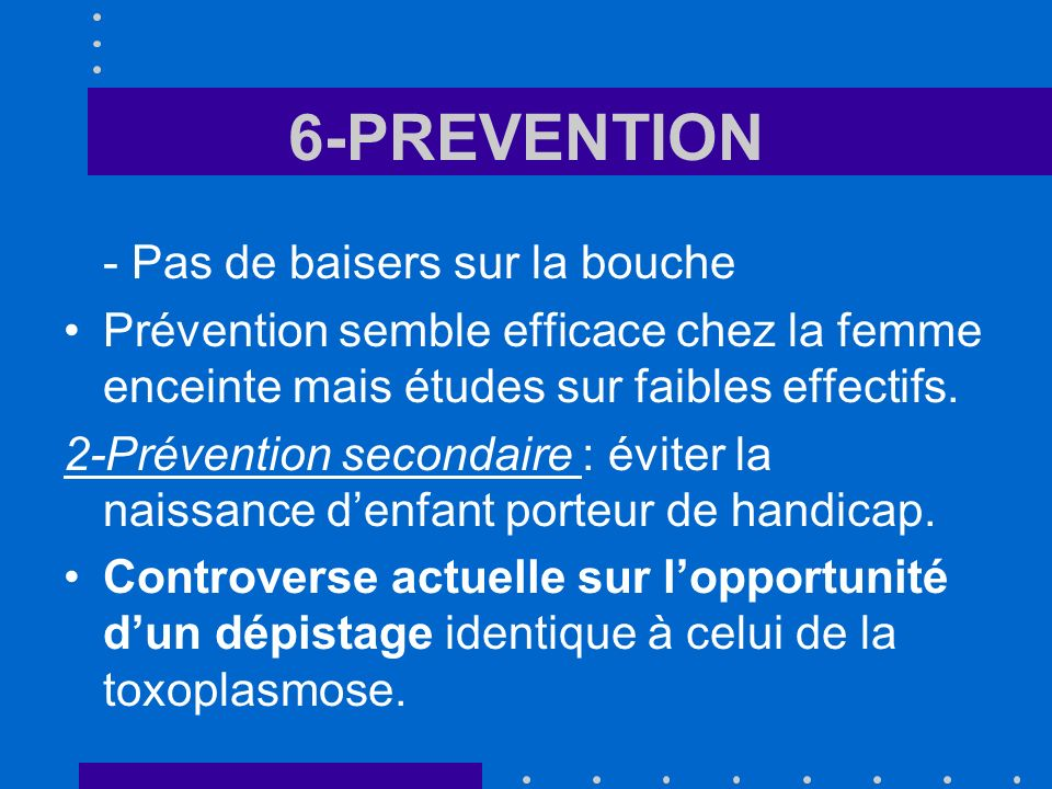 6-PREVENTION - Pas de baisers sur la bouche