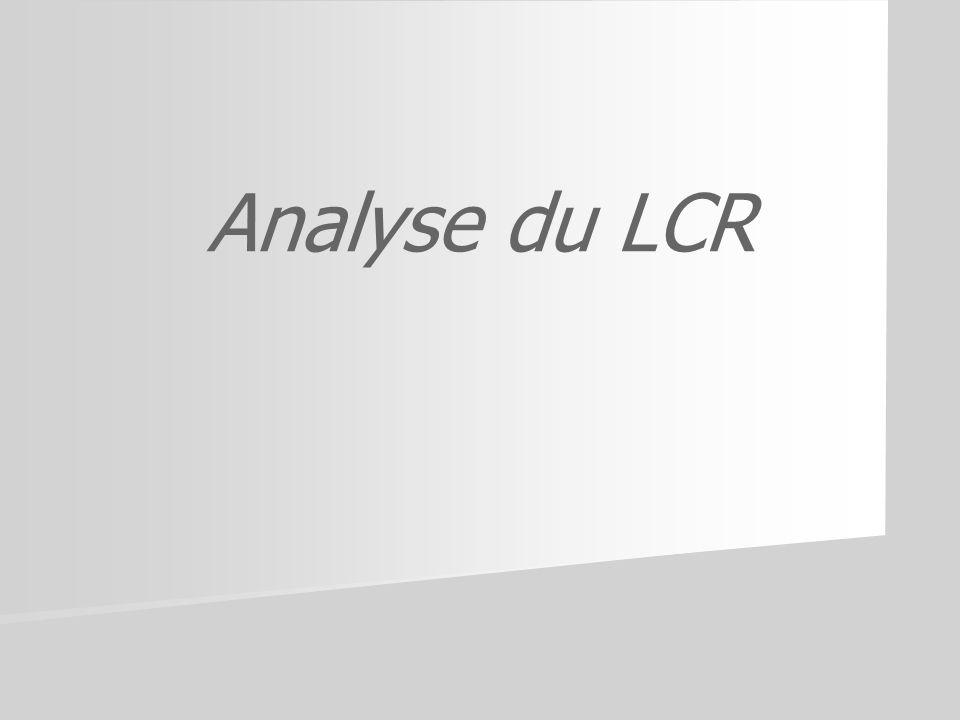 Analyse du LCR