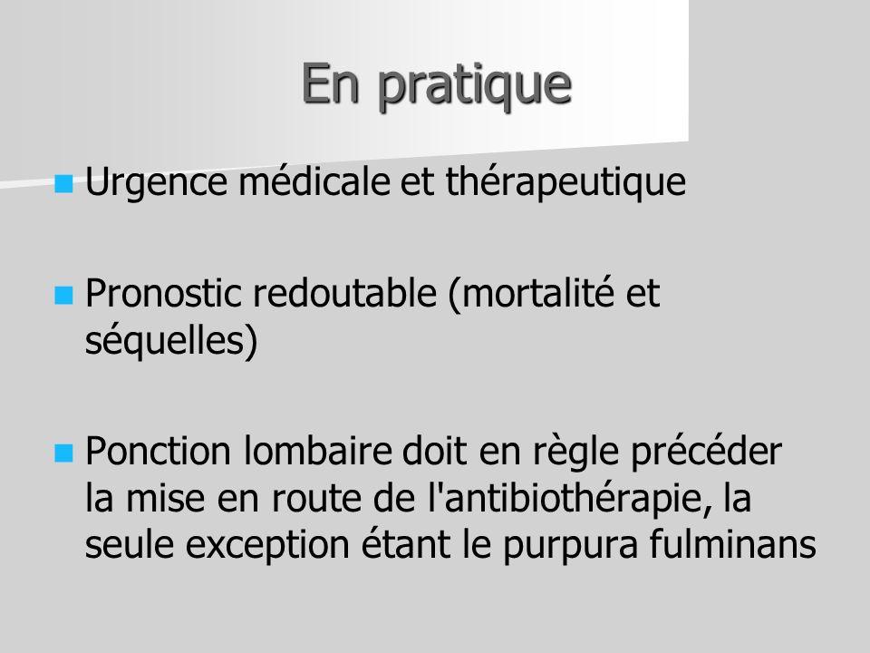 En pratique Urgence médicale et thérapeutique