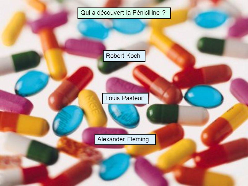 Qui a découvert la Pénicilline