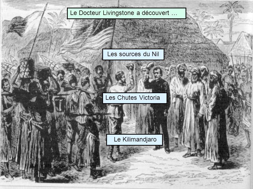 Le Docteur Livingstone a découvert …