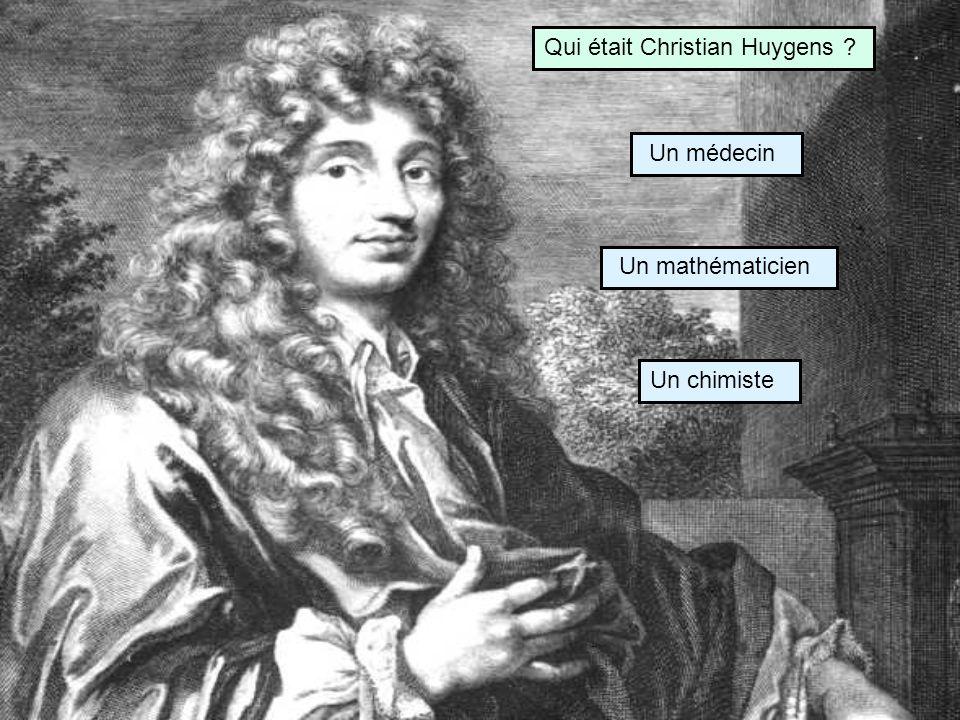 Qui était Christian Huygens