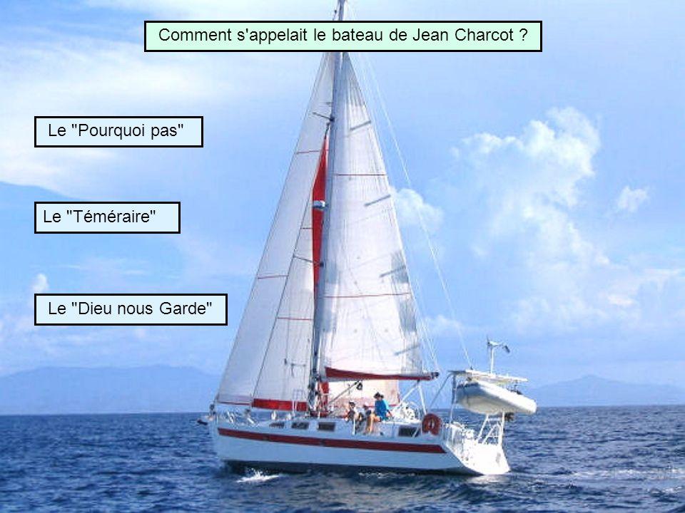 Comment s appelait le bateau de Jean Charcot