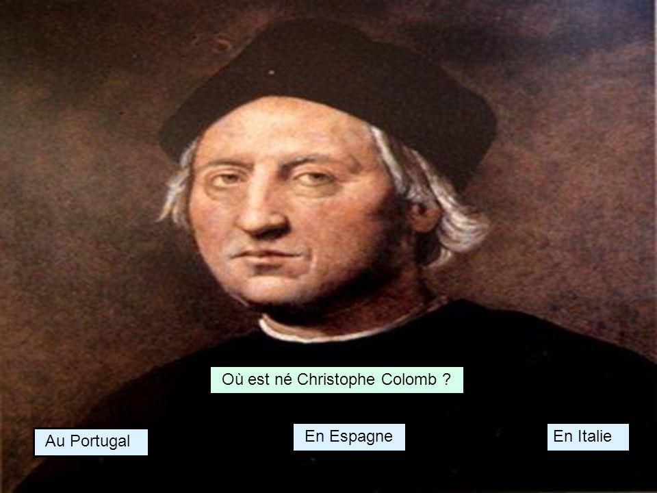 Où est né Christophe Colomb